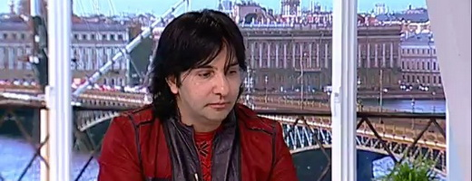 А. Марцинкевич в программе «Утренний гость» на 5-ом канале